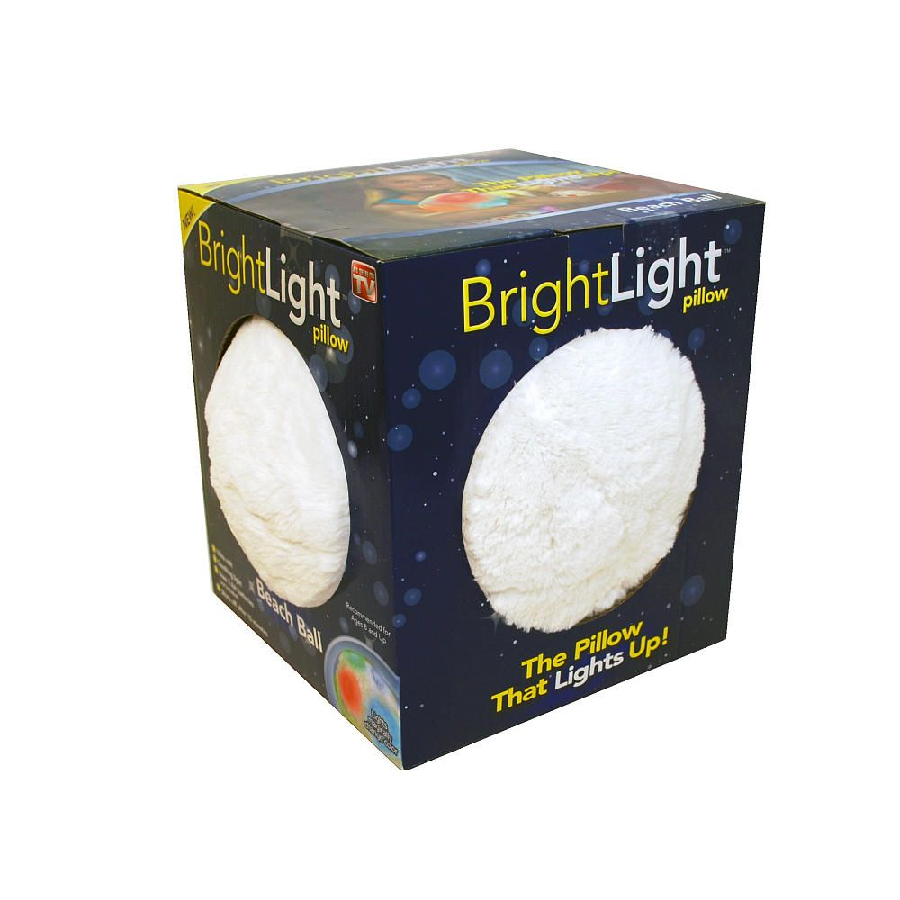 Exclusive Bright Light White Ball - Ideavillage.com - Toys \