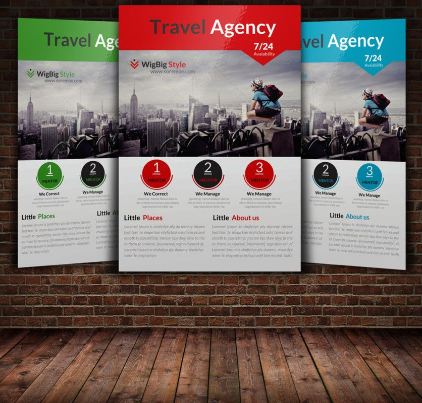 15+ Travel & Tourism Flyer PSD Templates Free brochure