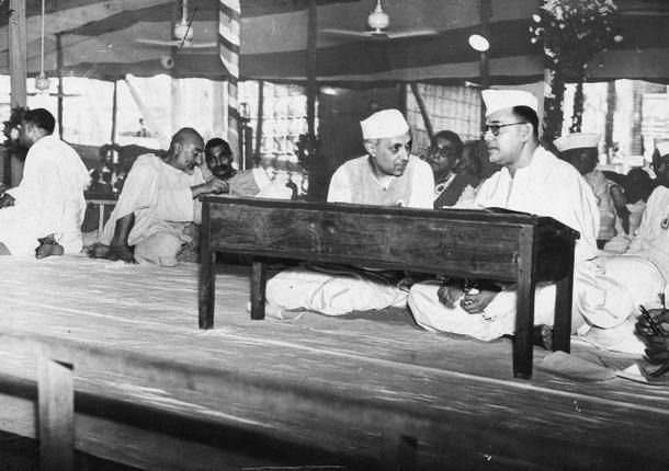 Subhash Chandra Bose With Congress