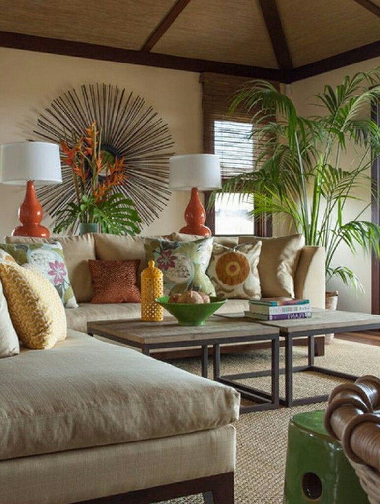 Pin By Pat Quaring On Decorating Tropical Living Room Tropical Home Decor Tropical Interior Design #tropical #living #room #furniture