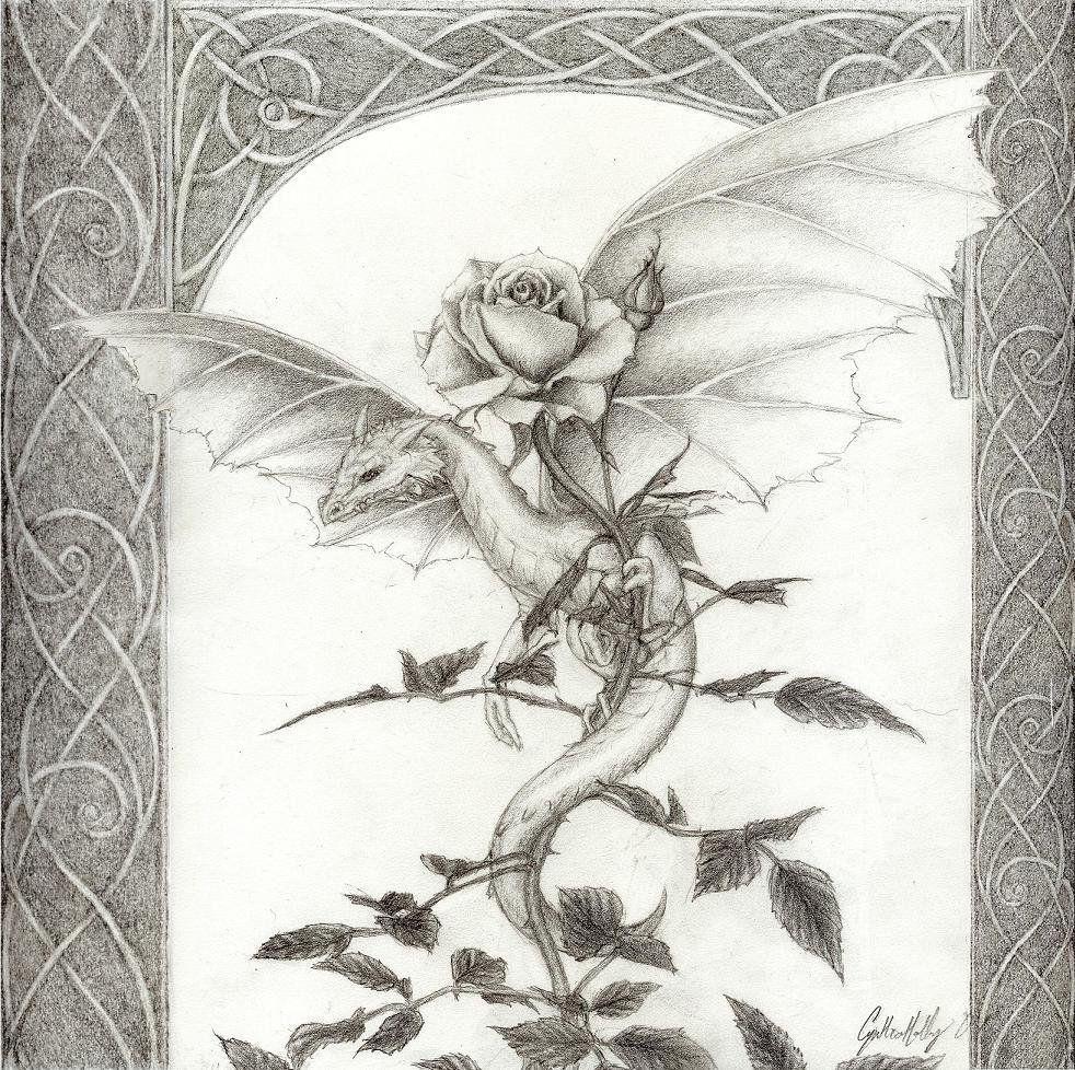 хороший, цветы фэнтези карандашом картинки утверждают