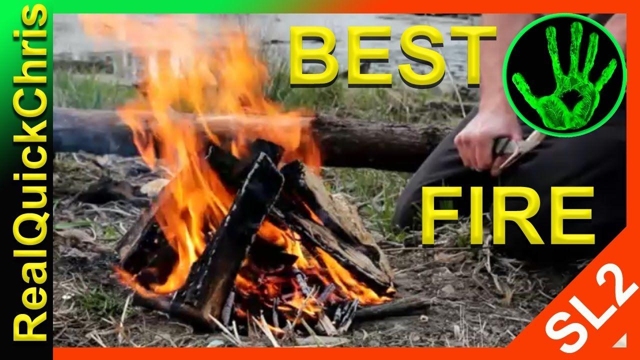 best way to start a fire bonfire campfire or build and make a fire | How to make fire, Campfire ...