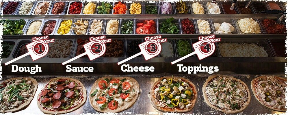 Pin by najib rayes on fast casual custom pizza concept