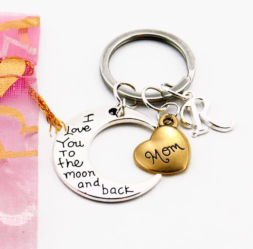 Mothers Day Gift Personalized Mom Gifts For Mother Birthday Daughter Son Keychain Mama By