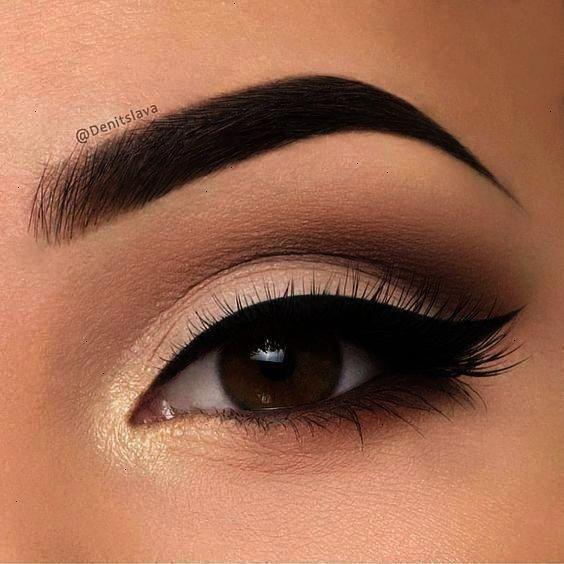 einfache Augen Make-up Ideen Lidschatten #Eyemakeup #make-upideen