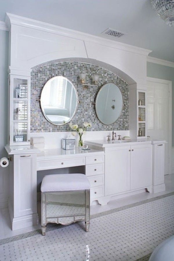 Built In Makeup Vanity Ideas | Luxury Awesome Bathroom Decorating Design  Inspiration | Home Design .