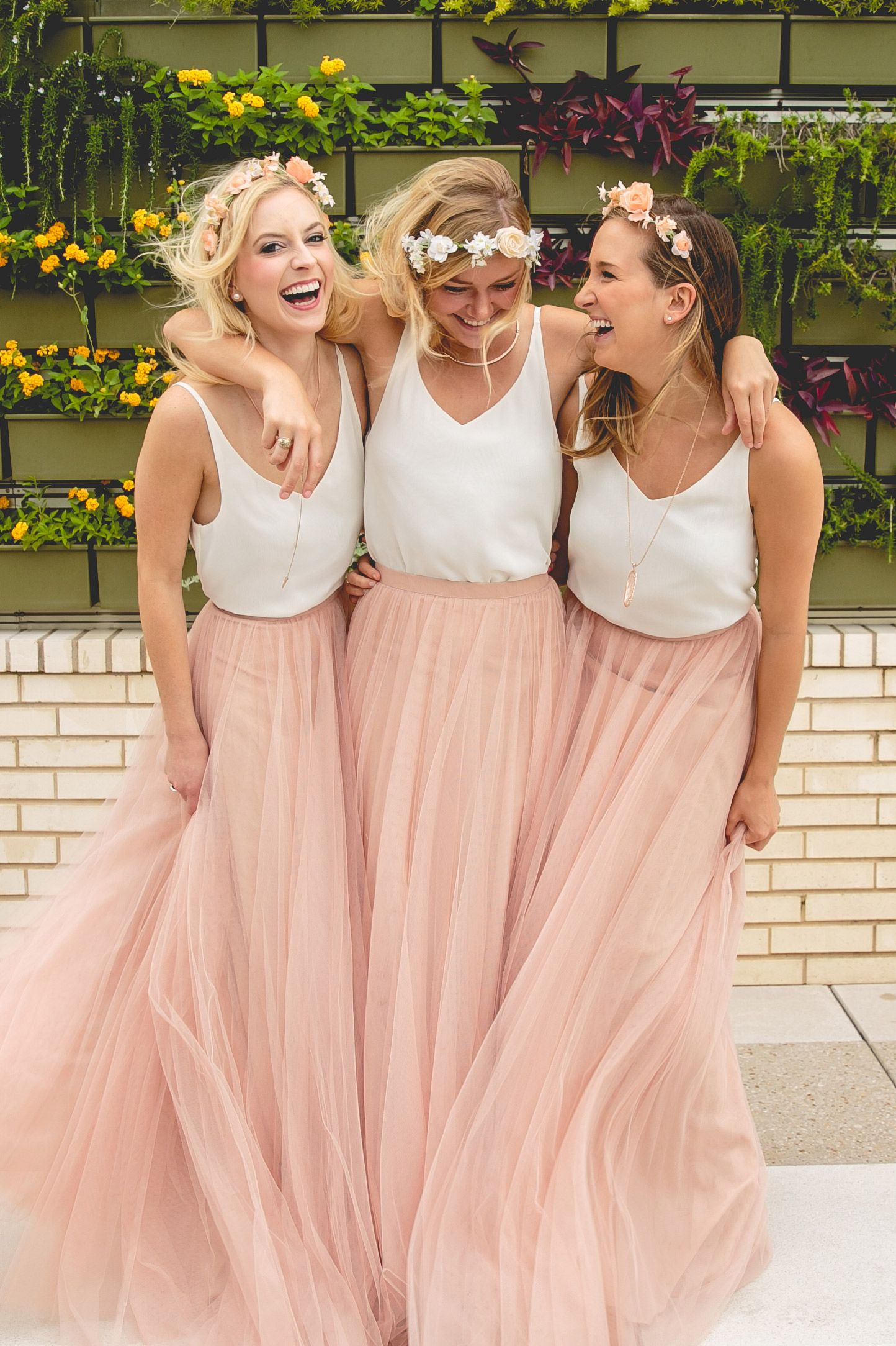 Tulle Skirts For Bridesmaids I Am Done This Is Perfect Revelry