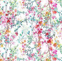 all over prints -florals-. Un proyecto de Ilustración de Sol  Galiano Vadillo - 25.01.2016