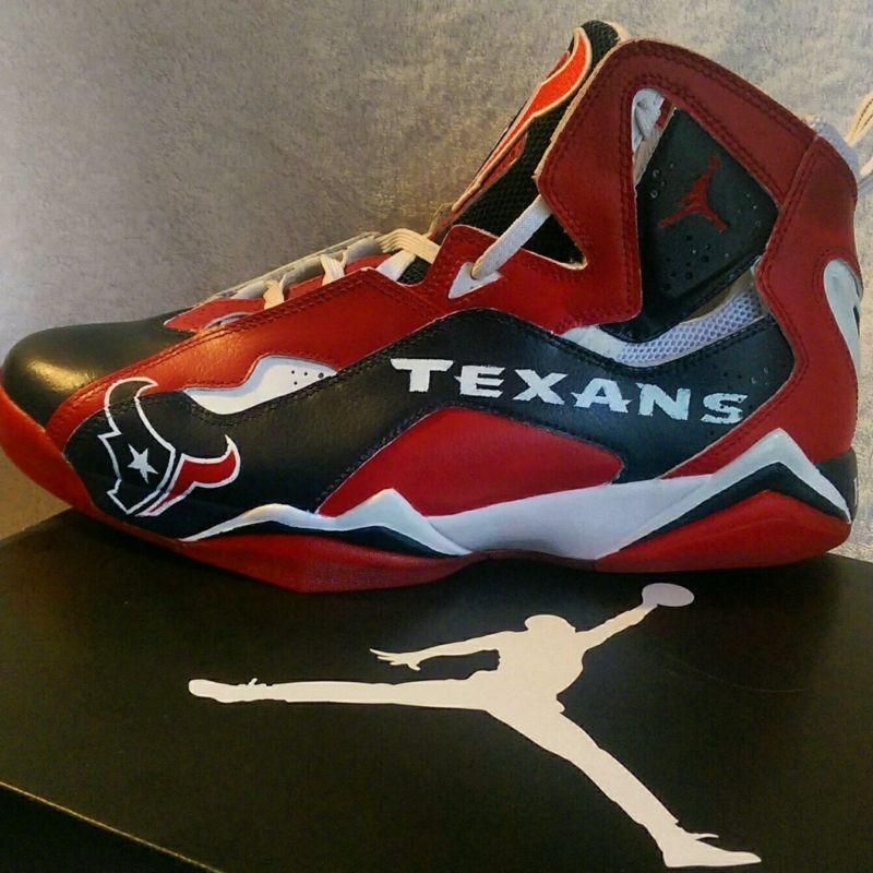 f304ac7715ac5b Customized NFL Jordans