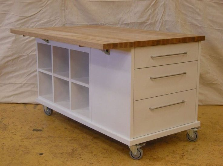 Easy And Workable Rolling Kitchen Island Ideas Mobile Kitchen Island Kitchen Island On Wheels With Seating Rolling Kitchen Island