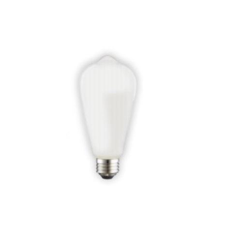 8w Led St19 Filament Bulb Dimmable E26 120v Frosted Glass 3200k 1800k In 2020 Filament Bulb Bulb Edison Bulb