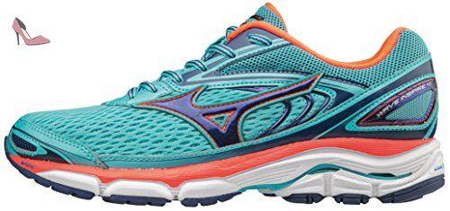 Mizuno Wave Inspire W, Chaussures de Running Femme, Multicolore  (Blueradiance/Blueprint/
