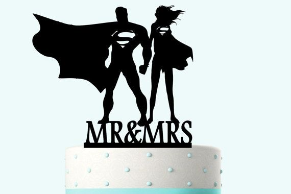 Supergirl And Superman Silhouettes By Bridesmaidgifthanger