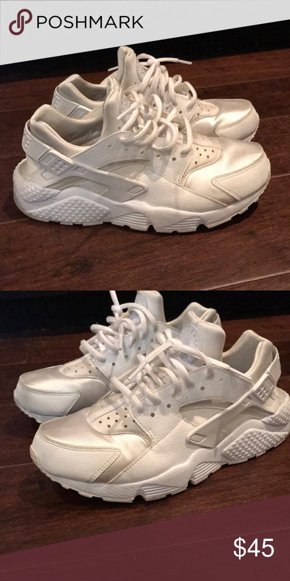 Nike huarache, White sneaker