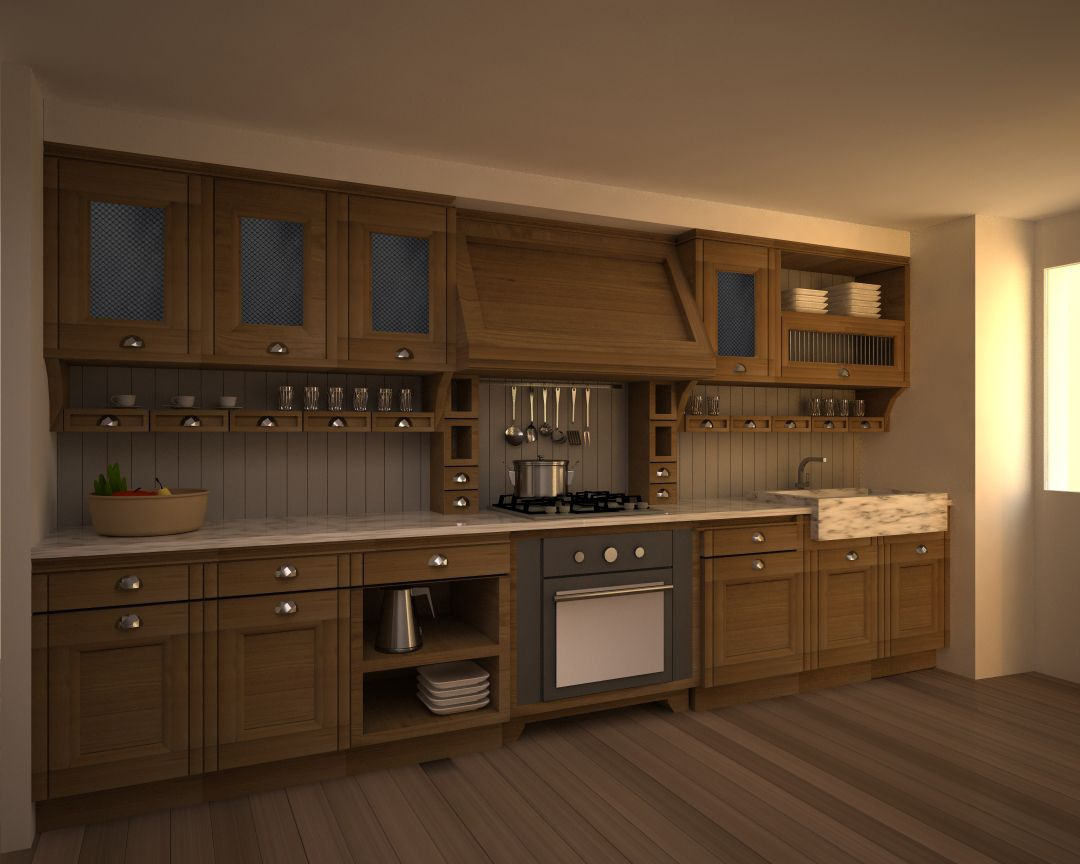Arredamento Casa Roma interior design - designer rome, render