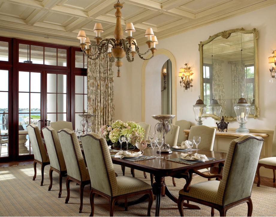 Lovely traditional dining room. Elegant! | Dining Room ...