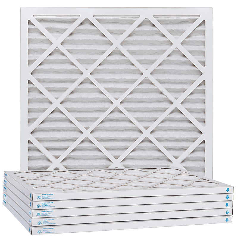 16x25x1 MERV 13 Pleated Air Filter in 2020 Air filter