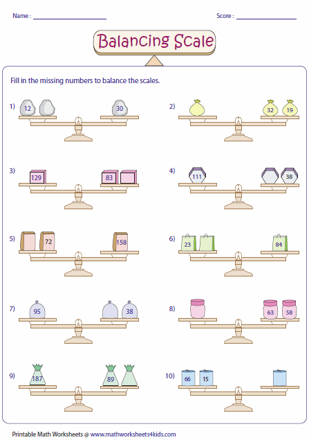 balancing scale addition decimal two step equations worksheets y kids math worksheets. Black Bedroom Furniture Sets. Home Design Ideas