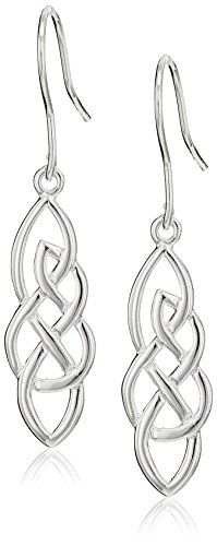 Sterling Silver Elongated Celtic Knot…