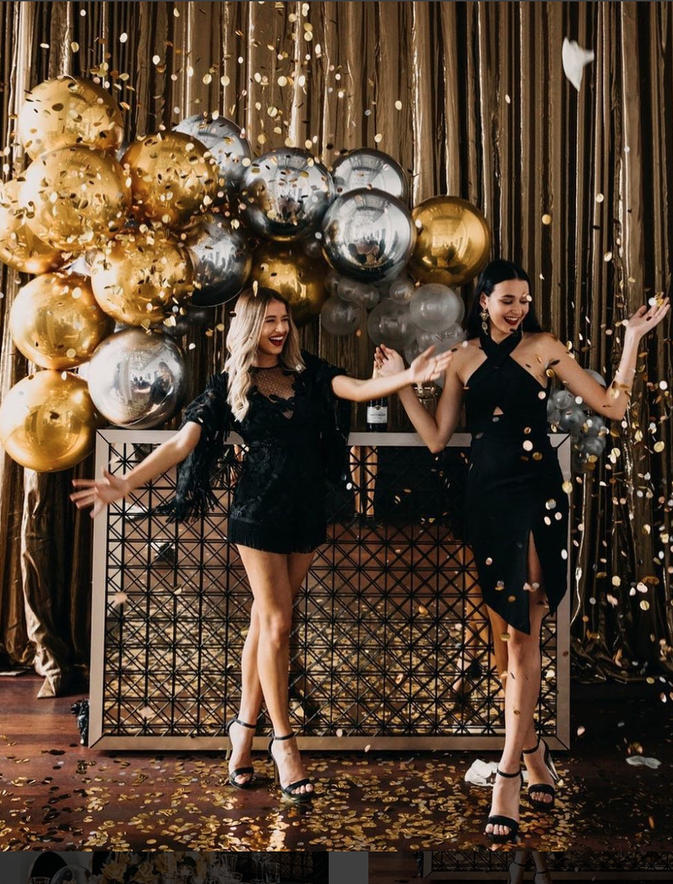Luxurious Black Gold Party Inspiration Blackandgold Blackgold