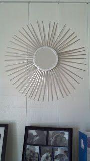 Burst mirror Diy project Cmo hacer tu propio espejo decorativo
