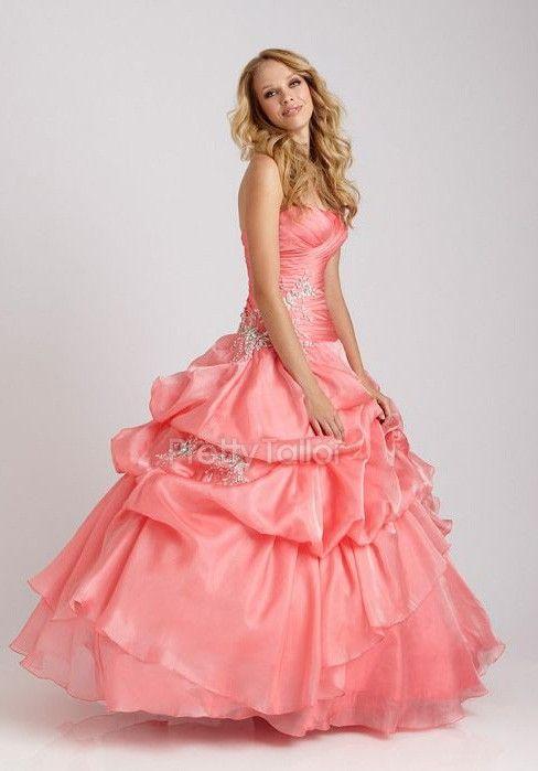http://www.prettytailor.com/p/sleeveless-ball-gown-organza-floor-length-strapless-quinceanera-dress-72891.html