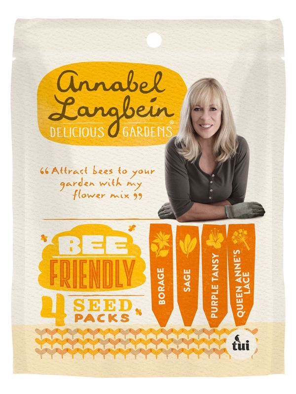 Tui Annabel Langbein Bee Friendly Seed Mix