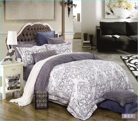 Flower Patterned Twin Xl College Comforter Cozy Dorm Bedding