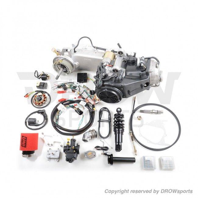 Honda Ruckus GY6 Swap Kit for 7 Inch Fatty Tire | DROWsports