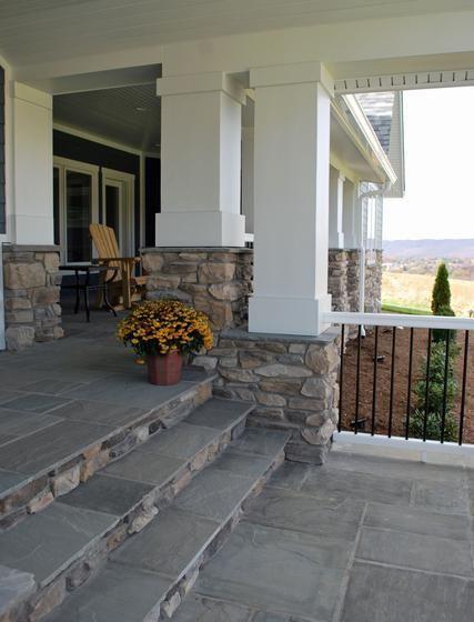 Contemporary Farmhouse Eldorado Stone