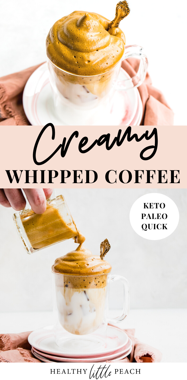 Whipped Coffee, Keto Style Recipe Sugar free drinks