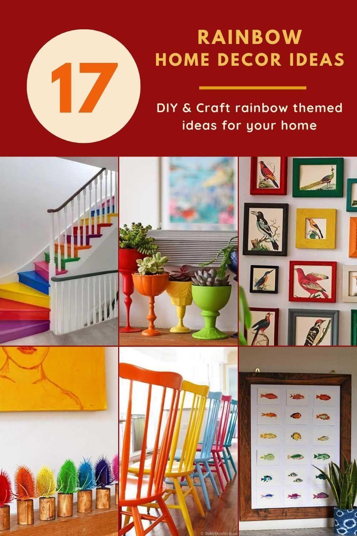 19 Of The Best Rainbow Home Decor Ideas Diy Home Crafts Diy Projects Garage Work Diy