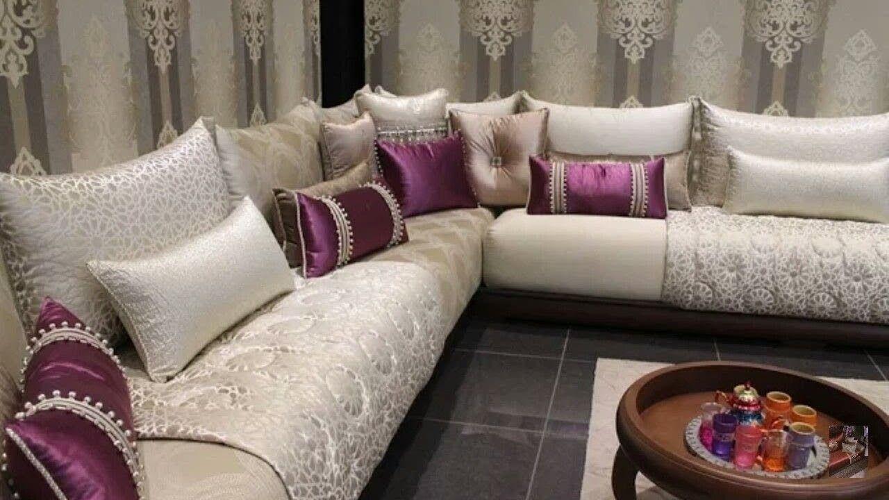 لعشاق الصالون المغربي اقدم لكم باقة من اروع الصالونات المغربية العصرية Moroccan Home Decor Moroccan Living Room Contemporary Lounge
