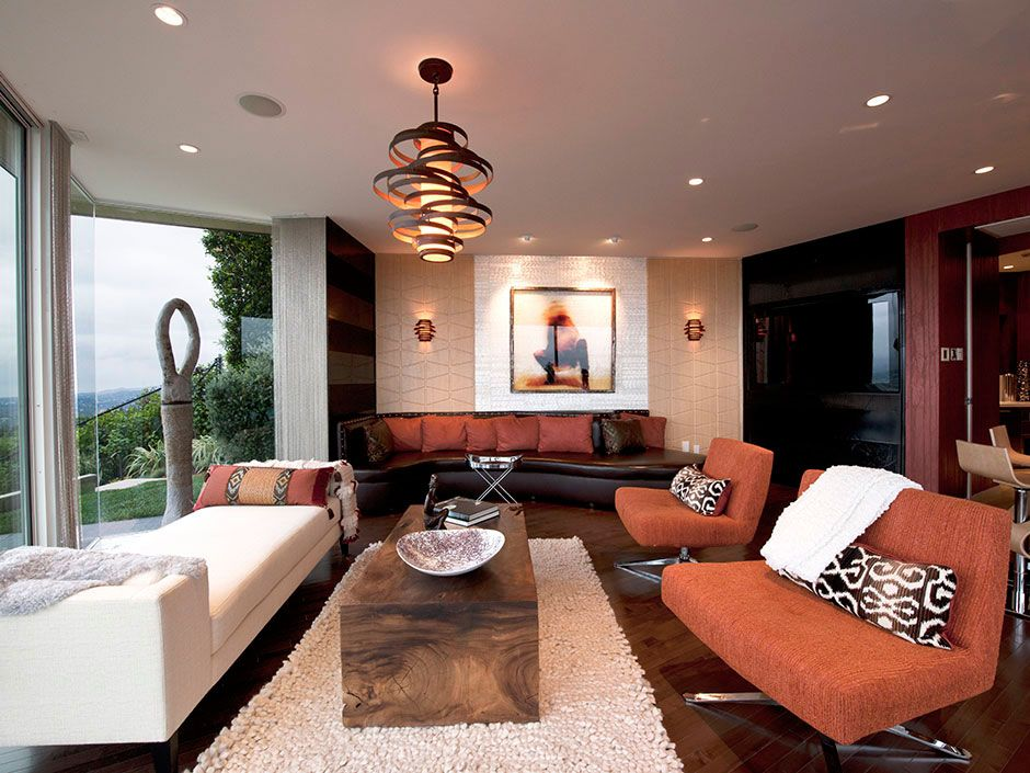 Decorate Your Living Room With Modern Hanging Lamps  Always In Stunning Lamps For Living Room Decorating Design