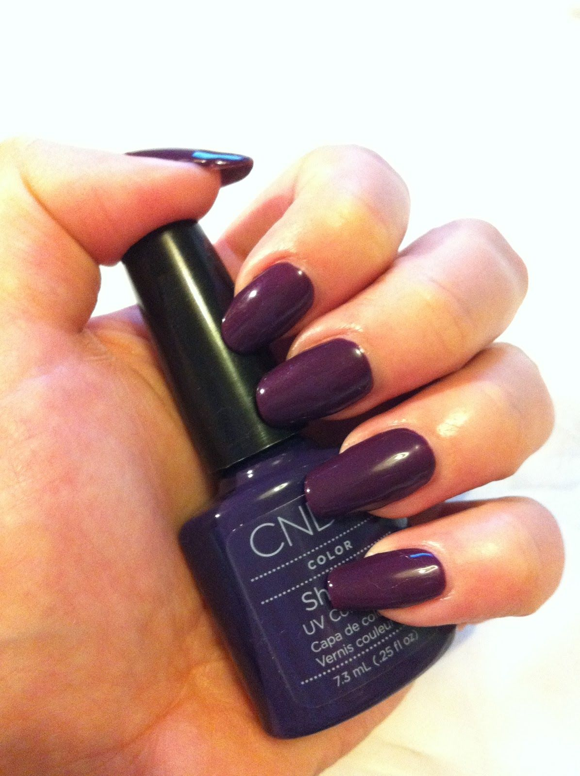 CND Shellac Rock Royalty....her Nails Are Lady Gaga Scary