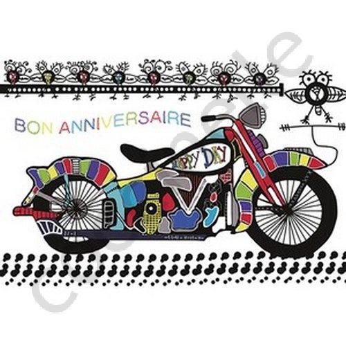 carte anniversaire homme moto Carte D'anniversaire Moto A Imprimer Gratuite Fresh Image