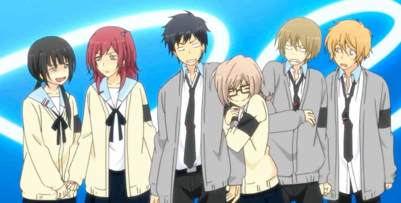 Relife Anime Anime Anime Guys With Glasses Anime Guys