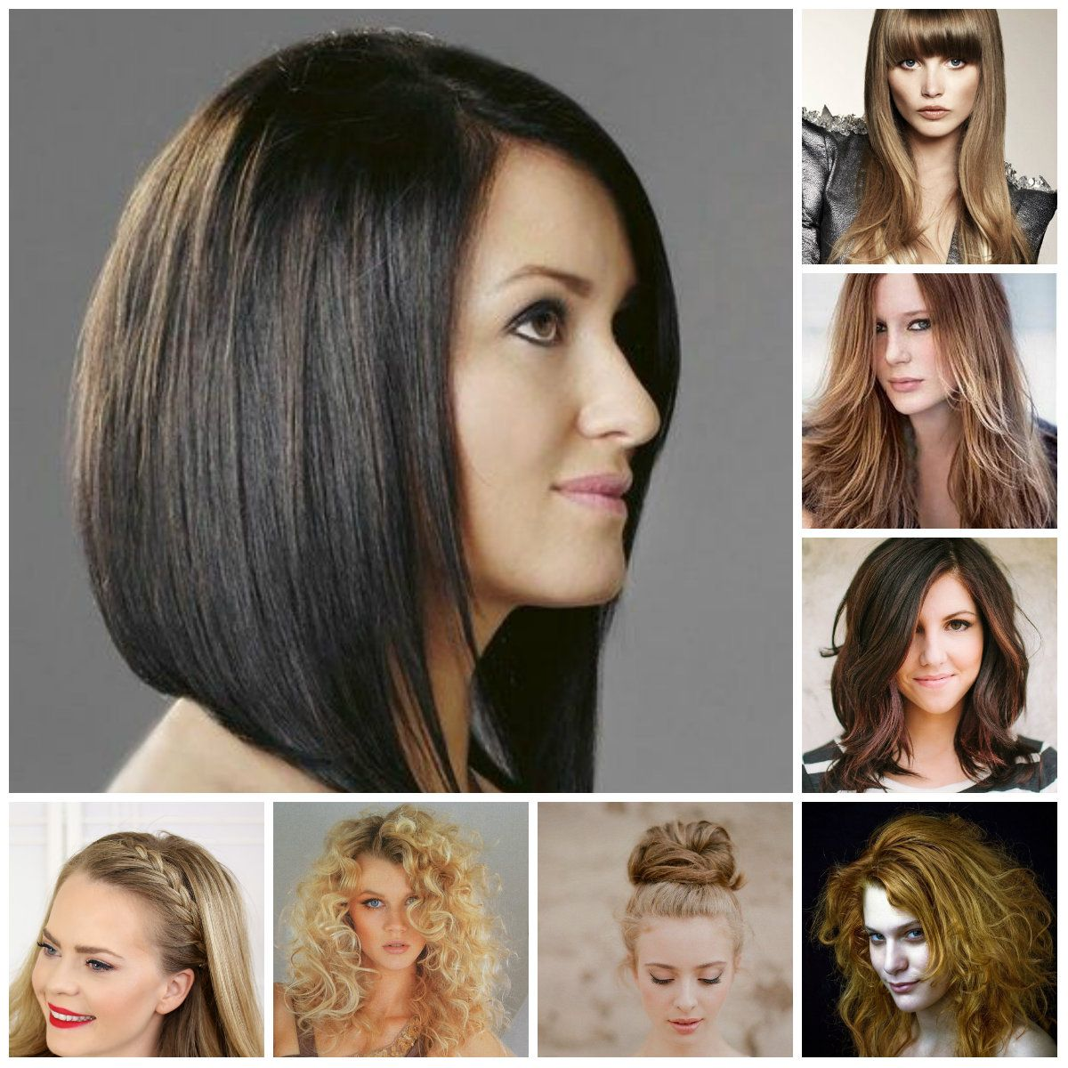 Penteados para 2016 | Trendy hairstyles, Short hair and Haircuts
