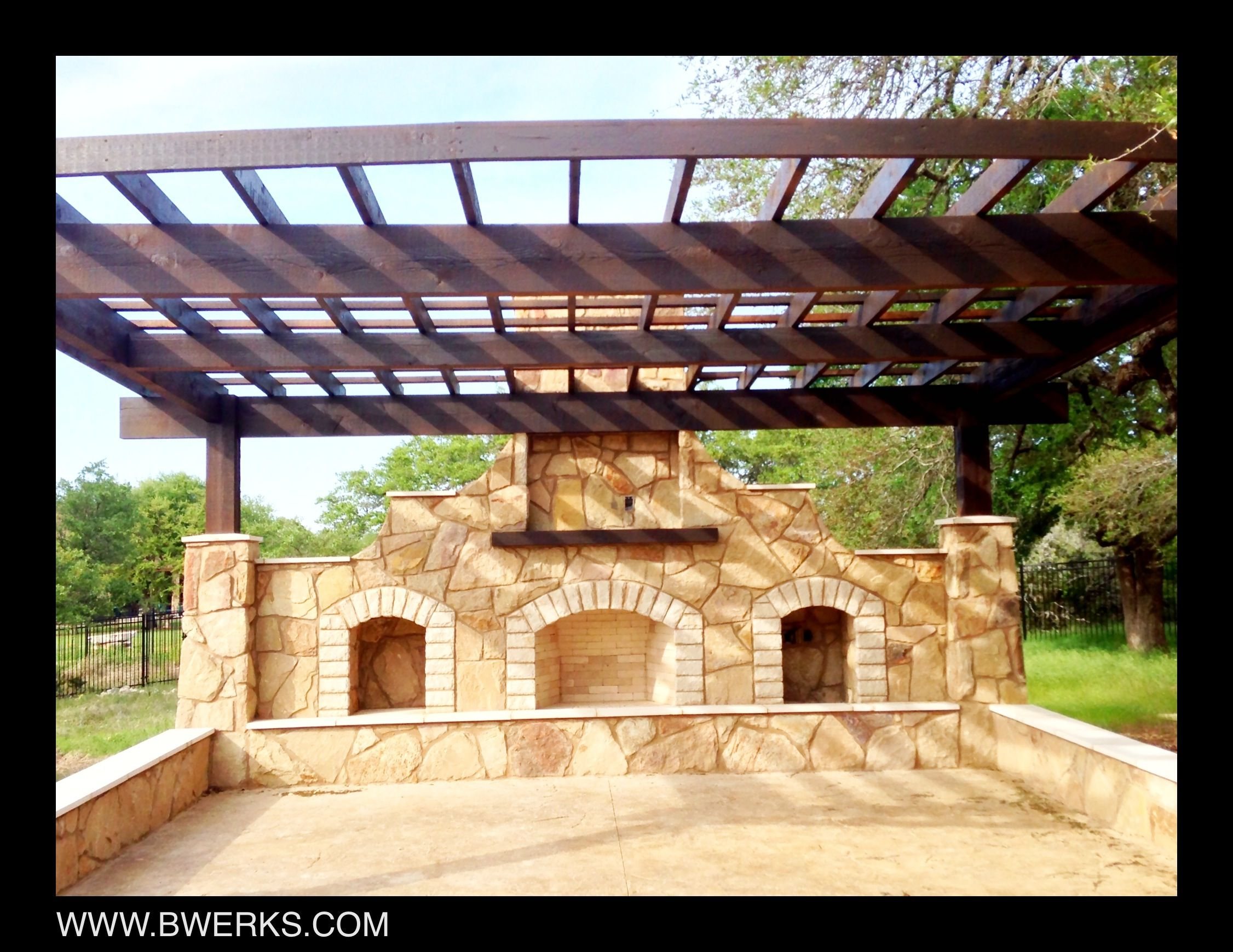 BWerks outdoor living environment! (With