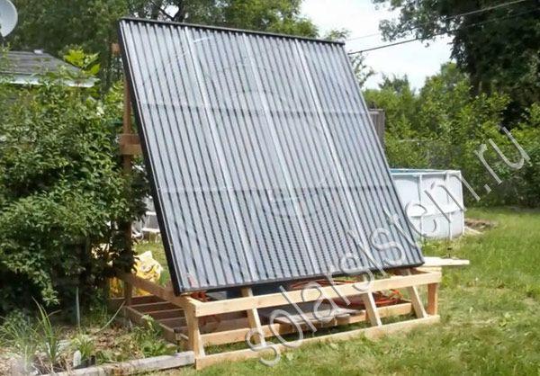 Вакуумный солнечный коллектор своими руками фото 407