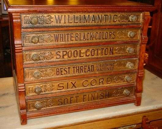 Antique Shop Thread Cabinet. - Antique Shop Thread Cabinet... Spool Cabinets Pinterest
