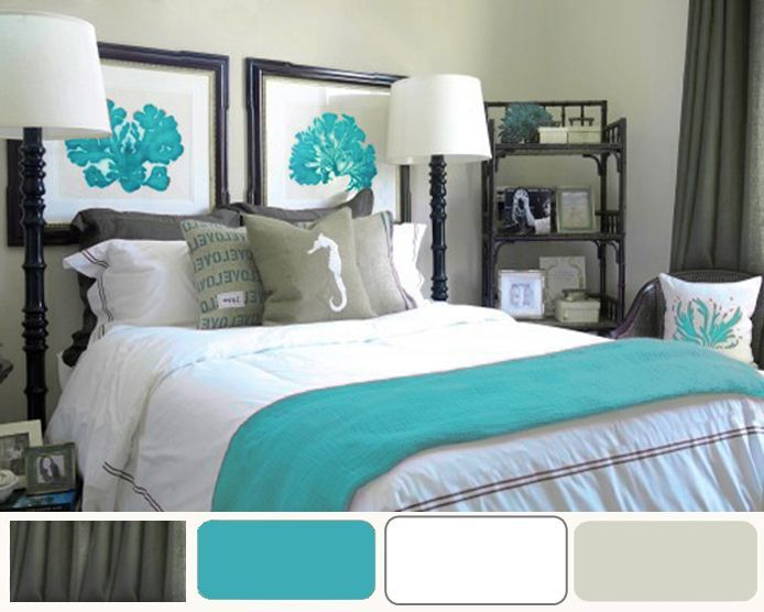Turquoise Color Bedroom Ideas Part - 16: Design Trend 17 Turquoise Room Decor Vintage With Blue Tags Turquoise  Bedroom Decor