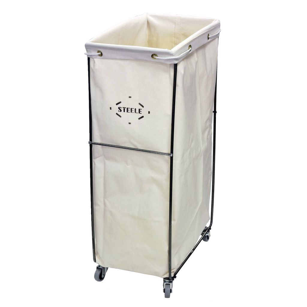Small Bag Caddie Casters Laundry Hamper Canvas Laundry Hamper