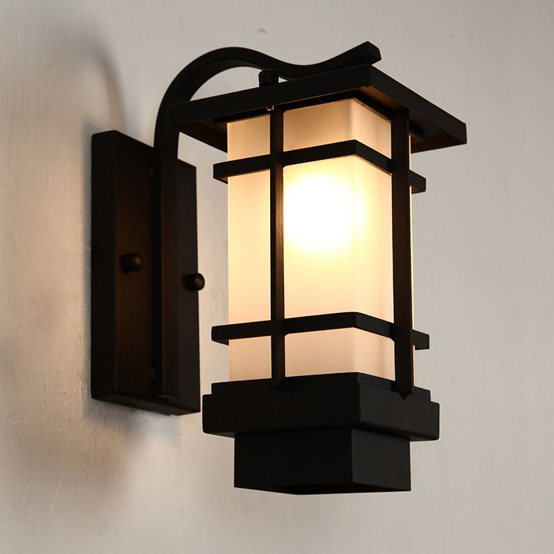 The New Chinese Outdoor Wall Lamp European Outdoor Lamp Waterproof Iron Retro Japanese Living Room Balcony Aisle Wal Outdoor Lamp Outdoor Wall Lamps Patio Lamp