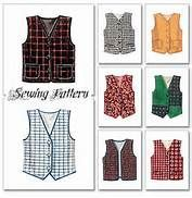 photograph regarding Printable Vest Pattern titled Free of charge Printable Vest Sewing Routine Totally free Sewing Vest