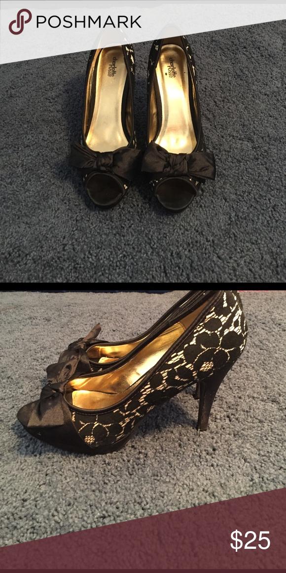 bd9d6801c2b Like new lace pumps. Shop Women s Charlotte Russe Black ...
