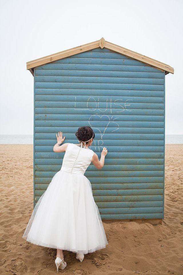 50s style wedding dress, Aberdeen House Ramsgate Registry Office ...