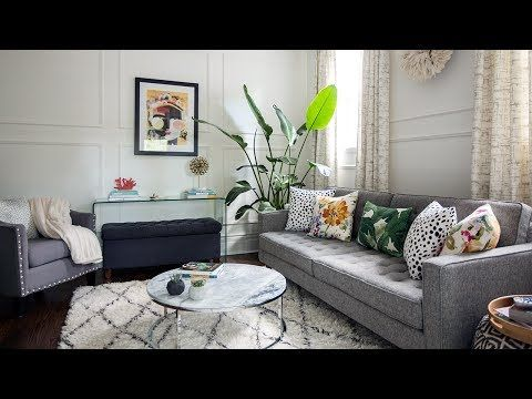 Interior Design — This Small Space Makeover Is Full Of DIY & Budget ...