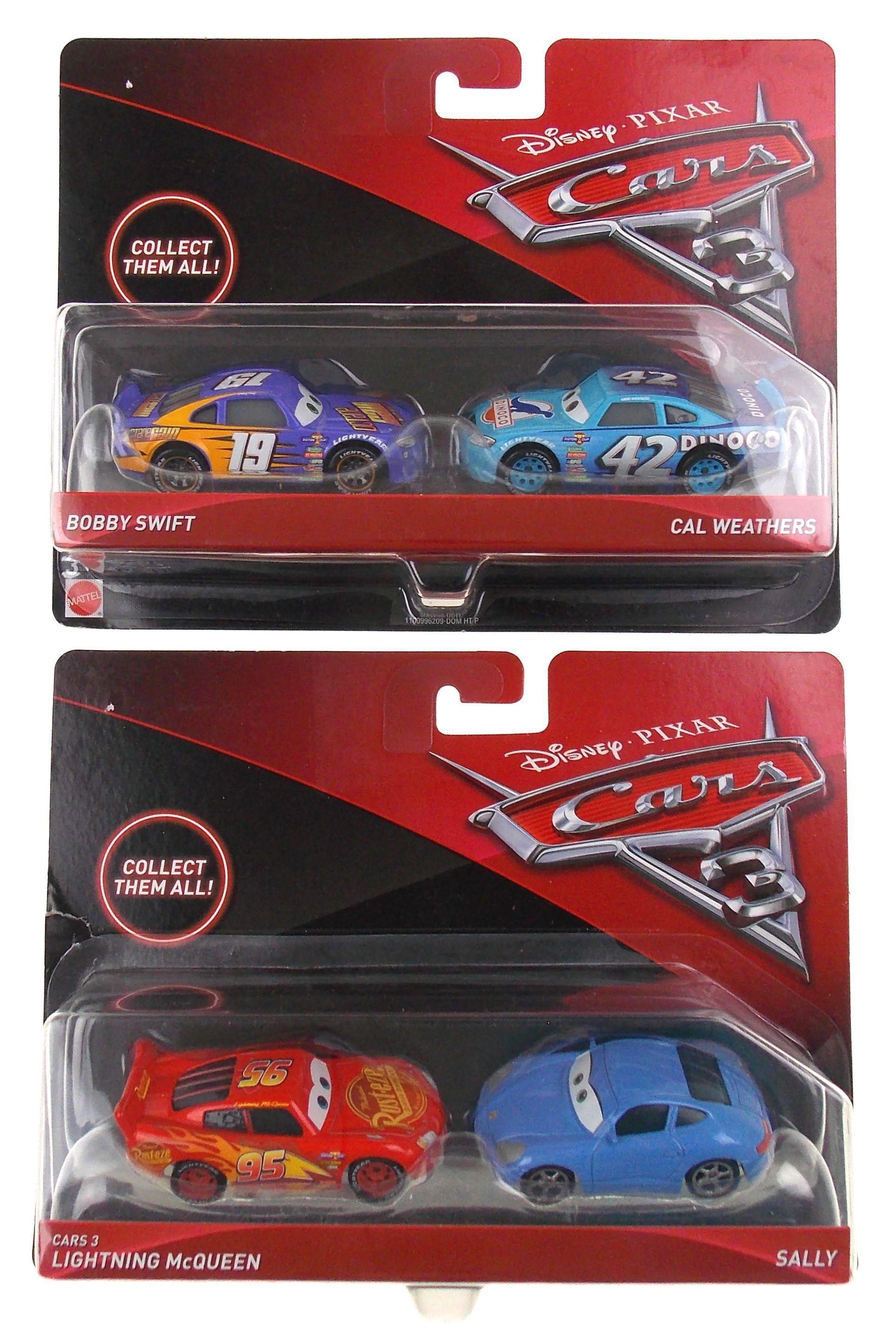 Mattel Disney Pixar Cars 3 Bobby Swift Cal Weathers Lightning Mcqueen Sally Toy Disney Pixar Cars Pixar Cars Lightning Mcqueen