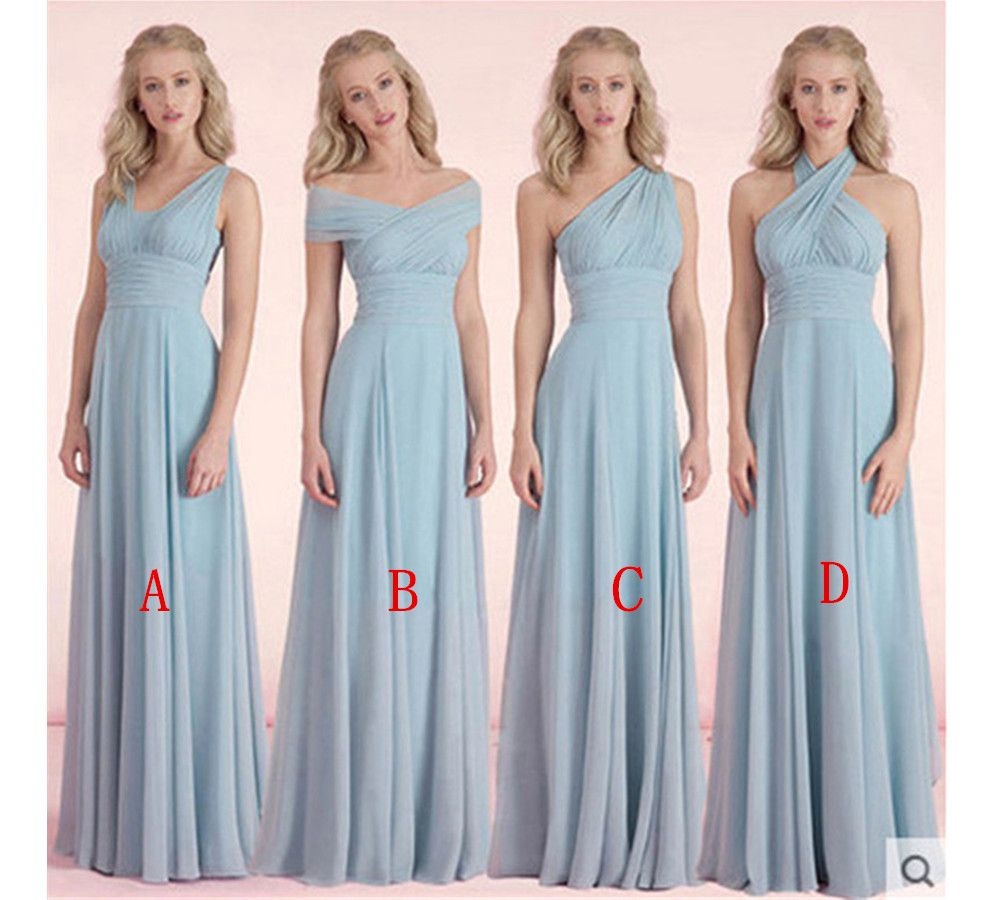 HG 577 New Arrival Bridesmaid Dress,Chiffon Bridesmaid Dress,Long ...